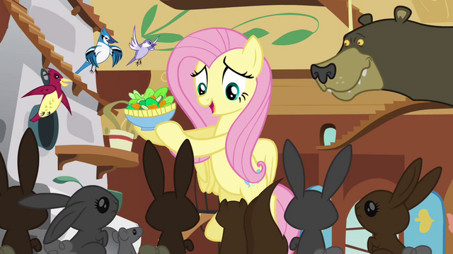 File:Fluttershy brings the animals food S3E13.png