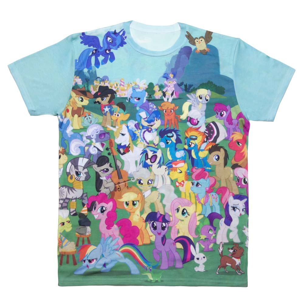 Image - MLP Season One Allover T-shirt front WeLoveFine ...
