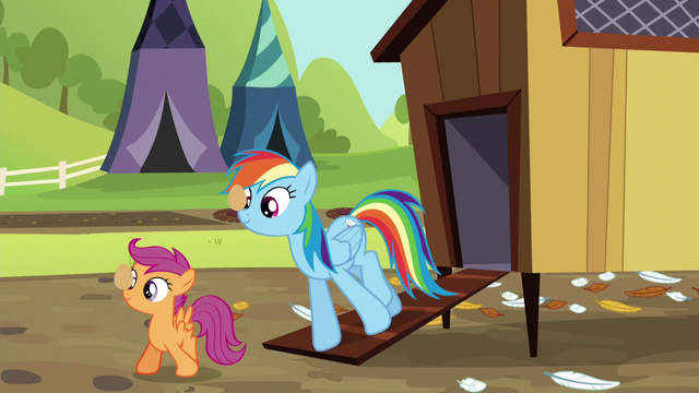 File:Rainbow and Scootaloo balancing eggs S5E17.png
