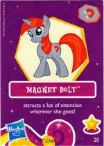 Wave 6 Magnet Bolt collector card
