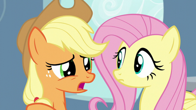 "File:Applejack ""how do we get her to stop?"" S5E5.png"