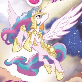 File:Comic issue 4 Princess Celestia battle armor.png