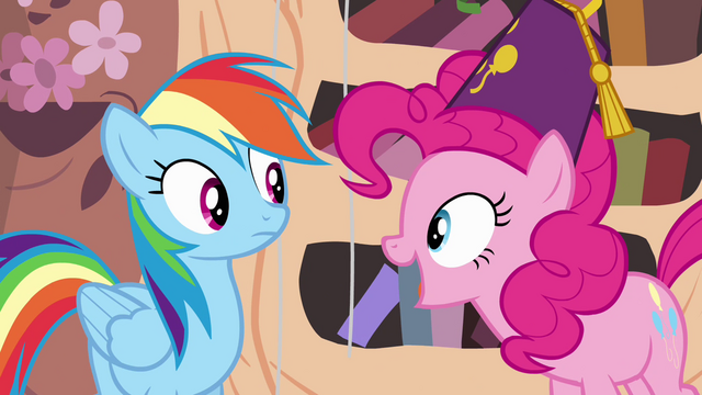 """File:Pinkie Pie """"national random holiday party day"""" S4E04.png"""