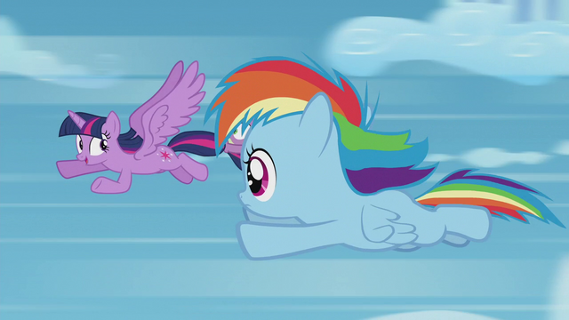 """File:Twilight """"fast enough for a sonic rainboom"""" S5E25.png"""