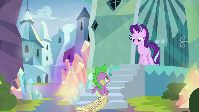 "File:Spike ""the whole lesson could go south"" S6E1.png"