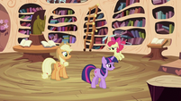Applejack, Apple Bloom and Twilight S2E06