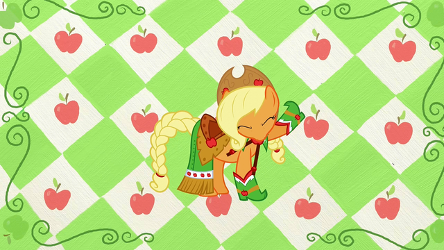 File:Applejack with head down S1E14.png