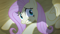 Fluttershy cowering down S4E07