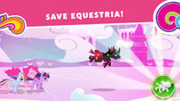 MLP Harmony Quest screenshot - Save Equestria!