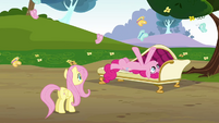 Pinkie Pie 'Thanks for letting me rest in your butterfly grove' S3E3