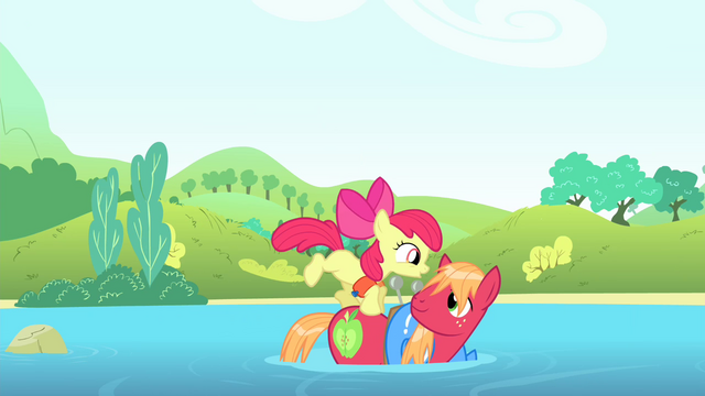 File:Apple Bloom jumps onto Big Mac S4E20.png