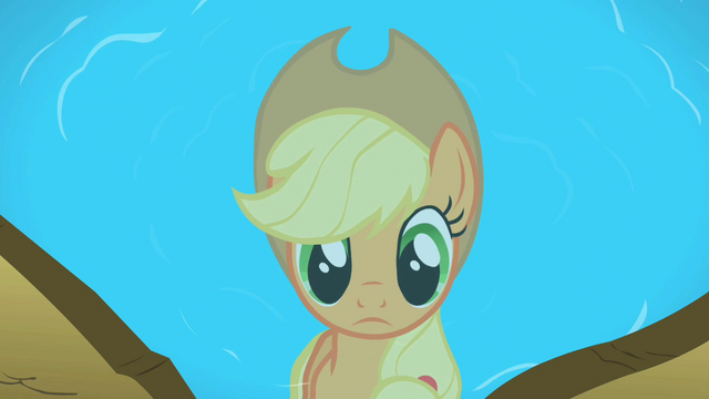 File:Applejack's reflection in the pond S2E01.png