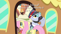 Fluttershy entering train S4E11