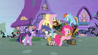 Main six gather around Zecora S4E01