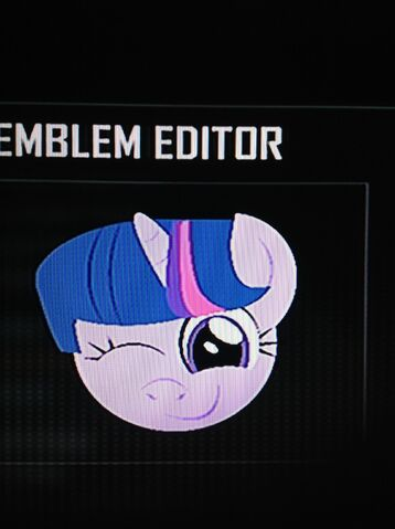 File:FANMADE Twilight Sparkle Black Ops 2 Emblem.jpg