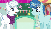 Double Diamond looks at invitation disapprovingly S6E25