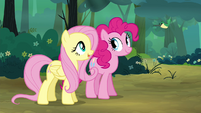 "Fluttershy ""He says hello"" S4E18"