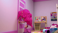 Pinkie Pie about to open her closet EGM1
