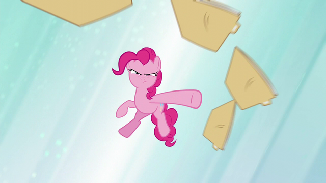File:Pinkie Pie throws files S5E19.png