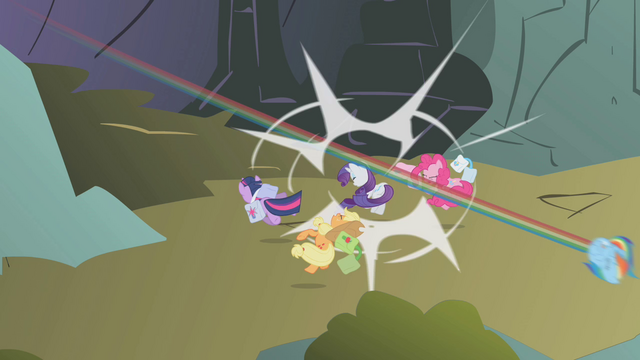 File:Ponies knocked out S01E07.png