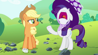 "Rarity ""I give up!"" S4E18"