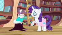 Rarity requesting Spike S3E11