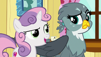 """Sweetie Belle """"since we are the Cutie Mark Crusaders"""" S6E19"""