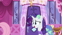 Rarity nervously accepts Fluttershy's idea S5E21
