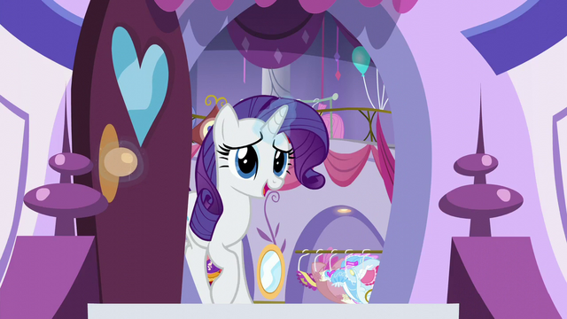 File:Rarity opens Canterlot Carousel's front door S5E14.png