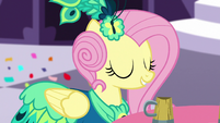 Fluttershy at the Gala close-up S5E7