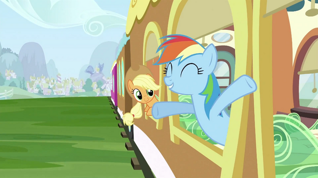 File:Rainbow Dash at the window S2E25.png