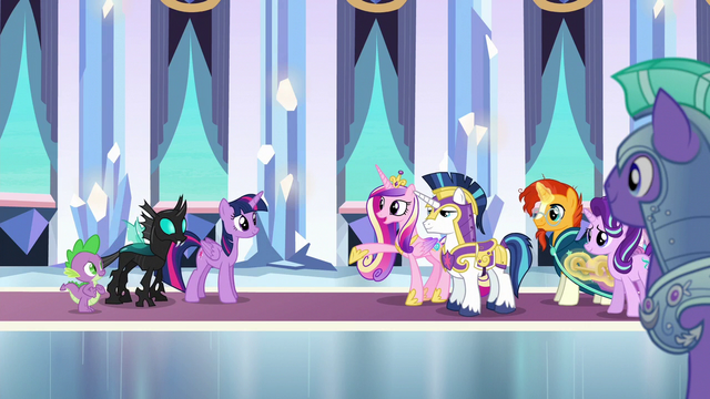 File:Cadance extends friendship to Thorax S6E16.png