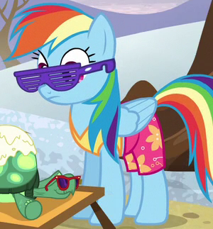 File:Rainbow Dash beach attire ID S5E5.png