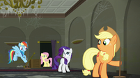 "Rarity ""did you hear that?"" S6E9"
