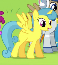 Lemon Hearts alicorn ID S4E10