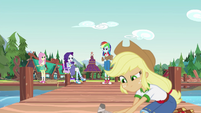 """Rarity """"at the pace you two are moving"""" EG4"""