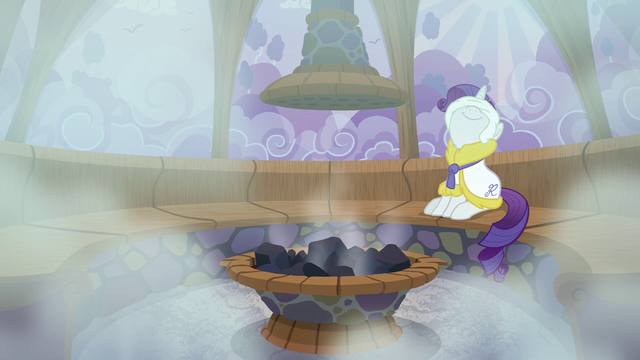 File:Rarity enjoying the sauna S6E10.png