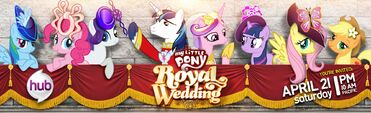 Royal Wedding Hub promo poster