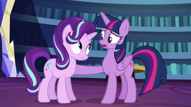"File:Twilight asks ""is something wrong?"" S6E1.png"