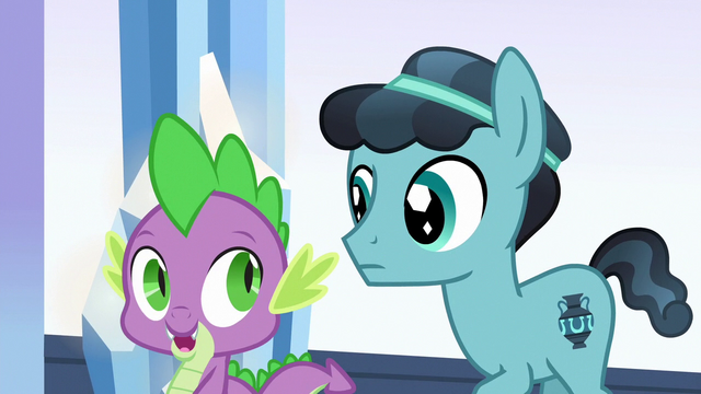 "File:Spike ""pretty soon, nopony will care"" S6E16.png"