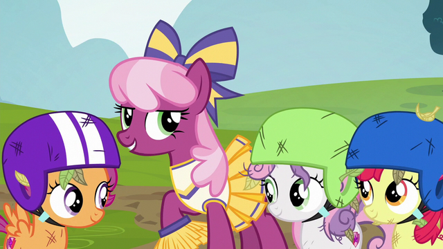 """File:Cheerilee """"the older ponies should sit this one out"""" S6E14.png"""