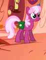 Cheerilee with her saddlebag crop S01E18.png