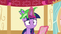 Twilight worried face S5E11