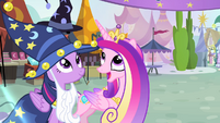 Cadance 'Magic health bubble' S4E11