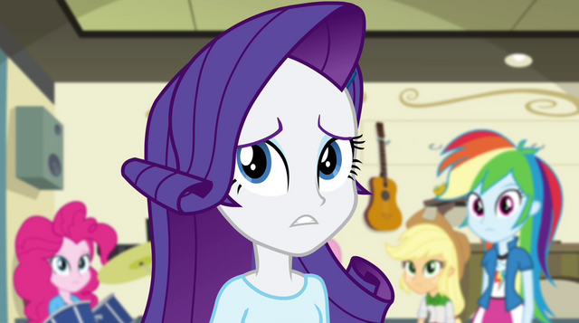 "File:Rarity ""you and Flash used to be an item"" EG2.png"