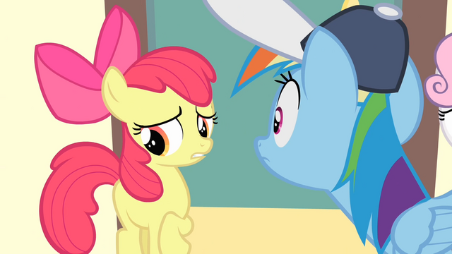 File:Apple Bloom '...uh, that we didn't want a quitter' S4E05.png