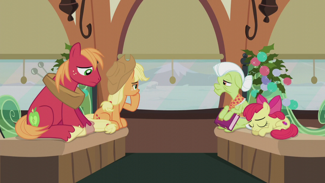 File:Apple family returning to Ponyville S5E20.png