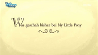 German 'Previously on My Little Pony' - S4E26
