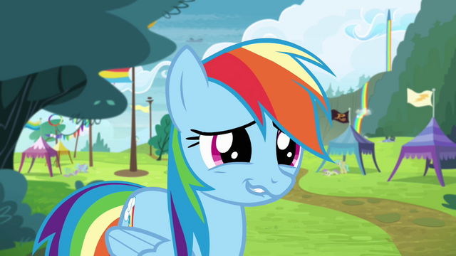 File:Rainbow awkward grin S4E10.png