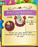 Richard (the) Hoovenheart album MLP mobile game